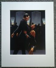 "JACK VETTRIANO""RUMBA IN BLACK"" MOUNTED ART PRINT SINGLE MOUNT PRESENTATION"