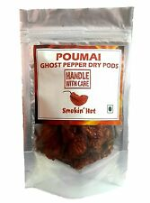 Bhut Jolokia , Ghost Pepper Oven dried 20 grams