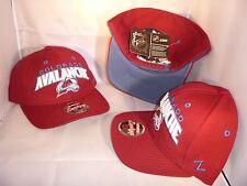 COLORADO AVALANCHE NHL MAROON SIGNATURE TEAM EDITION SNAPBACK ADJUSTABLE HAT CAP
