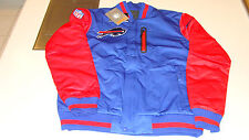 NFL Buffalo Bills Large Reversible Full Zip Jacket Football Logo Pockets