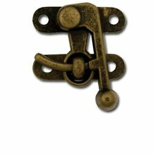 Swing Bag Clasp Medium Antique Brass 1306-02 by Tandy Leather