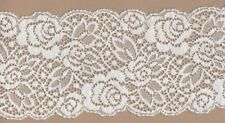 AVORIO STRETCH LACE TRIMMING 5mts 8,7 cm di larghezza