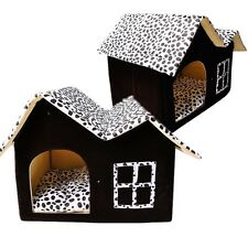 Portable Luxury Pet Dog Cat Bed House Warm Mat Snug Puppy Soft Bedding Home New
