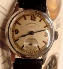 Vintage 1940s West End Watch Caballeros Reloj De 31mm Dial Original encantadora ref 1815