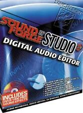 Sonic Sound Forge Studio 5 XP PC CD create record edit audio music effects tools