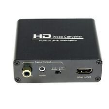 Brand new HDMI to DVI coaxial 3.5MM Audio Converter Adaptor Box for Xbox PS3 1PC