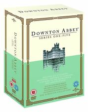 Downton Abbey ITV TV Period Drama Serie Complete Season 1 2 3 4 5 (19 Discs) DVD