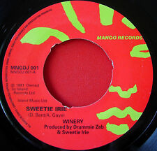 "Sweetie Irie Winery 7"" Dancehall Mango MNGDJ 001 b/w Version"