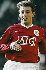 Football Photo GABRIEL HEINZE Man Utd 2006-07