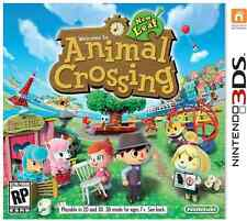 Animal Crossing New Leaf Nintendo 3DS Voll Spiele-Download-Karte/Code USVersion