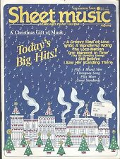 Sheet Music Magazine Dec 1988: Loco-Motion, I Saw Her Standing There, Christmas