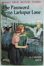 Nancy Drew #10 THE PASSWORD TO LARKSPUR LANE Carolyn Keene Original Text Blue EP