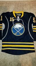 Jack Eichel Buffalo Sabres L Blue Hockey Jersey Reebok Center Ice