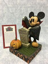 Walt Disney Showcase Jim Shore Mickey Mouse Happy Haunts In Box Halloween