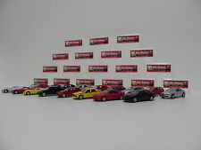 1:100 Kyosho Alfa Romeo Collection 2 Completo SET 18pcs NEW per MODELCAR PREMIUM