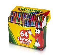Crayola 64 Ct Crayons (52-0064) Pack of 1 NEW Free Shipping