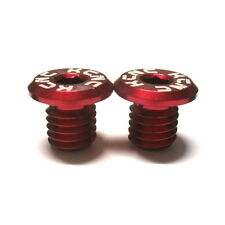 gobike88 KCNC Pivot Bolts, 8mm for Fork Brake Bolt Holes, Red, E50