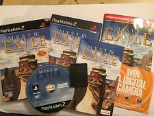 PLAYSTATION 2 PS2 GAME MYST III EXILE COMPLETE WITH MINI PRIMA STRATEGY GUIDE