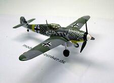 Busch 25056 BF 109 G2 Deutsches Jagdflugzeug Jagdfliegergal. Johannes Steinhoff