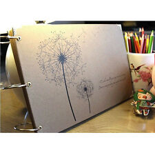 """Dandelion"" DIY Photo Album Baby Mommy Book Wedding Album Gift SR1G"