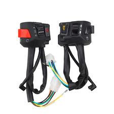 "Motocicleta 7/8 ""manillar Cuerno Turn Signal Headlight Electrical Start Switch"