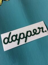 Dapper Dark Green, Sticker Vinyl Decal Audi Vw Scene Stance Slammed Car Window