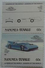 1935 CAMPBELL Rolls Royce BLUEBIRD V Car Stamps (Leaders of the World/Auto 100)