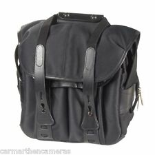 Billingham 107 Black Fibrenyte Camera Bag with Black Leather Trim 506002-01 *UK*