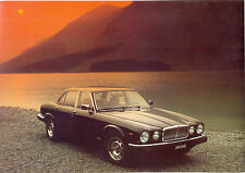 Jaguar c.1983 XJ SIII Sovereign 3.4 & 4.2 DUTCH sales brochure