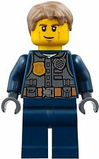 New LEGO Chase McCain Police Minifigure Only - 60138 High Speed Chase Split