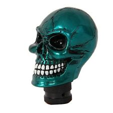 Cool Manual Car Truck Interior Gear Shift Knob Skull Shifter Lever Cover  #