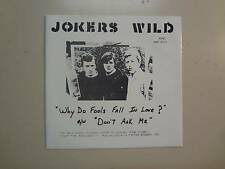 "JOKERS WILD:(w/David Gilmour Pre-Pink Floyd)Why Do Fools Fall In Love?-U.K.7""PSL"