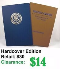 """NEW: """"The Final Chapter on the Assassination of John F. Kennedy"""" Hardcover"""
