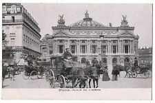 CPA 75 - PARIS - Place de l'Opéra (animée, attelages)