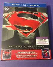 Batman v Superman Dawn of Justice Blu-ray Ultimate Edition *Steelbook Pack* NEW