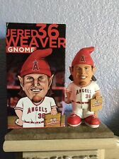 NIB Jared Weaver Anaheim Angels Limited Garden Gnome Bobblehead SGA 06/06/14 #1