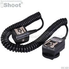 Flash Cavo E-TTL 2-scarpa Sync cavo fr Canon Macchina fotografica & 580EX 430EX
