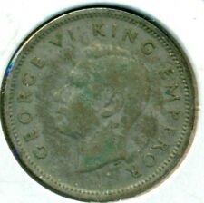 1937 NEW ZEALAND SILVER SIX PENCE, GREAT PRICE!