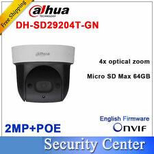 Dahua 2MP Network Mini IR PTZ Dome IP Speed Dome 4x Optical Zoom DH-SD29204T-GN