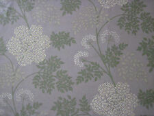 "SANDERSON CURTAIN FABRIC DESIGN ""Cowparsley"" 3.2 METRES AMETHYST (320 CM)"