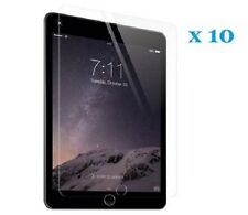 Pack of 10 CRYSTAL CLEAR SCREEN PROTECTOR GUARD FILM COVER FOR APPLE IPAD AIR2