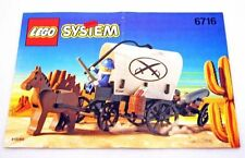 Lego System #6716 Wild West Covered Wagon New Sealed HTF