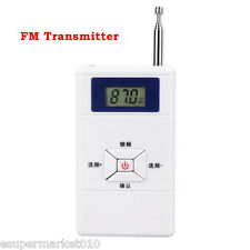 Mini FM Transmitter 70MHz-108MHz Radio Station Stereo Audio Converter Top New