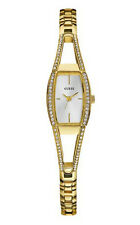 New Authentic GUESS Women's Goldtone Stainless Steel Bracelet watch G85635L 19mm