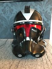 CASCO SHADOW Clone Trooper Star Wars Indossabile Adulto Costume di Scena