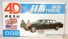002 HO 1/87 MODEL 4D KIT LINCOLN CONTINENTAL PRESIDENTIELLE SS 100X KENNEDY 63 G