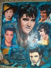 ELVIS- LIMITED EDITION PRINT, by artist W. W. Hoffert
