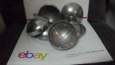 """Chain Link Fence Post Dome Caps (6pc) 4"""" Brand New Die Cast Aluminum"""