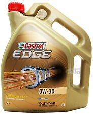 Castrol EDGE FST 0W-30 5 L Motoröl 0W30 Vollsynthese BMW LL04 VW Mercedes A3/B4