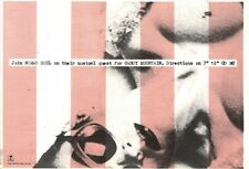 """9/11/91 Pgn28 Advert: Nomad Soul New Single candy Mountain On Island 7x11"""""""